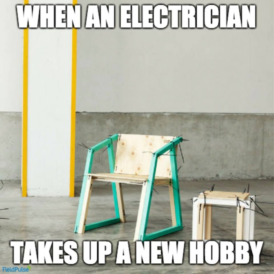 When an electrician takes up a new hobby