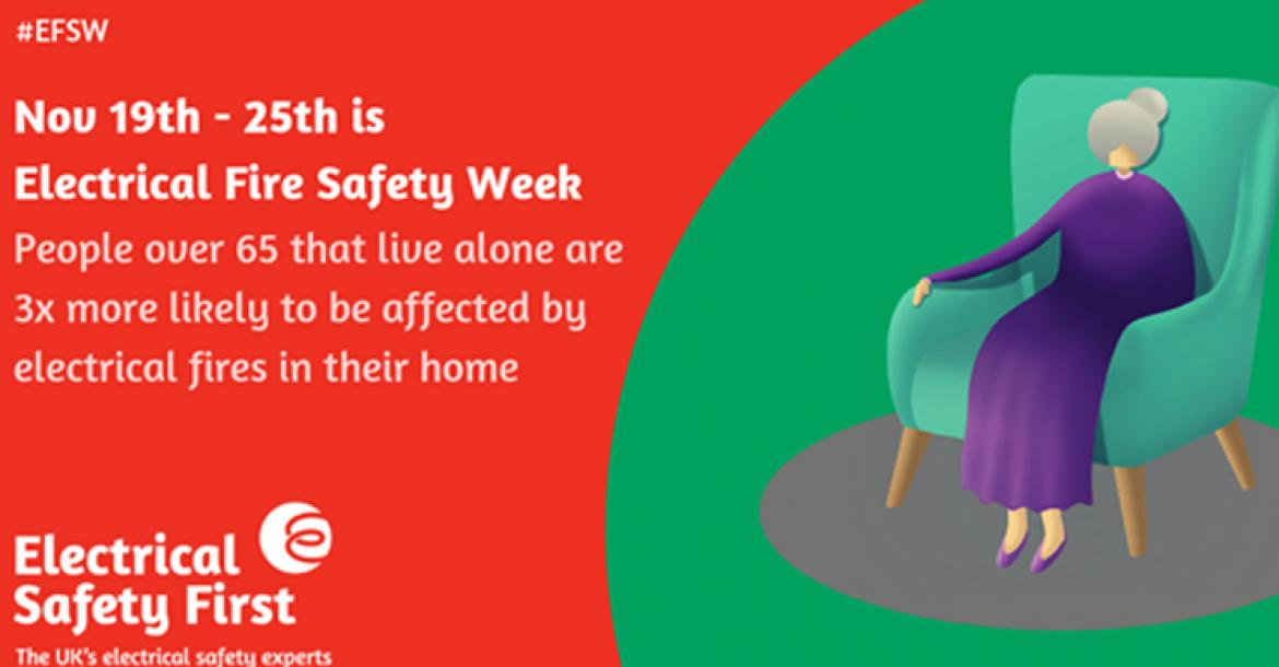 Electrical Safety Week 18th to 25th November 2019